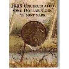 1995 $1 Matilda B Mint Mark