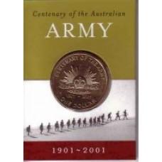 2001 $1 Army S Mint Mark