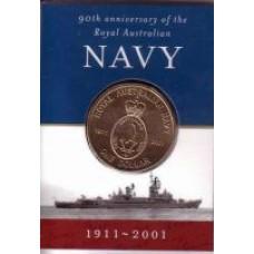 2001 $1 Navy