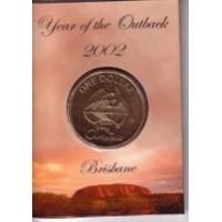 2002 $1 Outback B Mint Mark