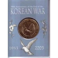 2003 $1 Korean War M Mint Mark