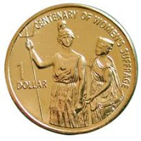 2003 $1 Woman's Suffrage