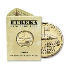 2004 $1 Eureka B Mint Mark