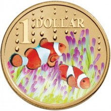 2006 $1 Ocean Series - Clown Fish