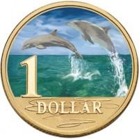 2006 $1 Ocean Series - Dolphin