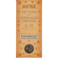 2010 $1 100 years of Australian Currency C Counterstamp