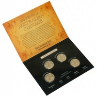 2010 $1 100 years of Australian Currency 4 coin Pack (C, S, B, M)