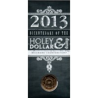 2013 $1 Holey Dollar and Dump B Counterstamp