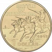 2017 $1 Beersheba