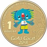 2018 $1 Commonwealth Games - Borobi