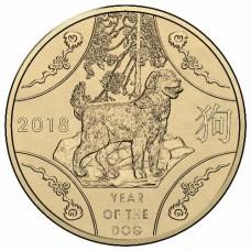 2018 $1 Lunar Dog