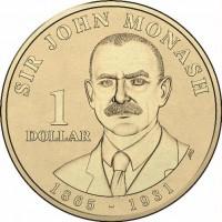 2018 $1 Sir John Monash