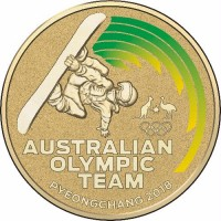 2018 $1 Winter Olympics