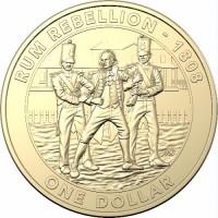 2019 $1 Rum Rebellion Unc