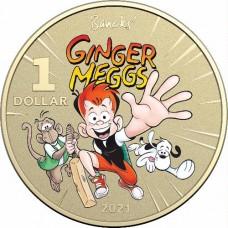 2021 $1 Ginger Megs 2 coin set