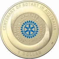 2021 $1 Rotary