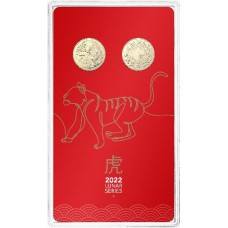 2022 $1 Tiger 2 coin set
