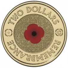 2012 $2 Remembrance Day 'C' Mint Mark