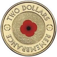 2012 $2 Remembrance 'RSL' Version