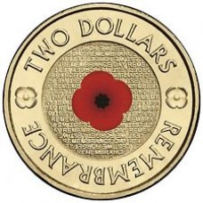 2012 $2 Remembrance 'RSL' Version