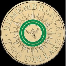 2014 $2 Remembrance Day 'C' Mint Mark