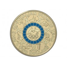 2016 $2 Olympics Blue