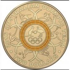 2016 $2 Olympics Orange