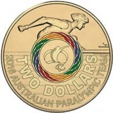 2016 $2 Paralympics