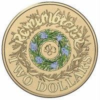 2017 $2 Remembrance Day