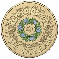 2017 $2 Remembrance Day 'C' Mint Mark