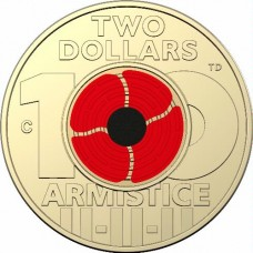 2018 $2 Remembrance Day RAM Roll