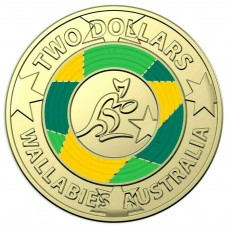 2019 $2 Wallabies - World Cup Rugby