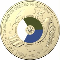 2020 $2 ANZAC Day C Mint Mark - 75th anniversary of the end of WWII