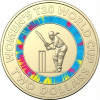 2020 $2 Woman's Cricket World Cup