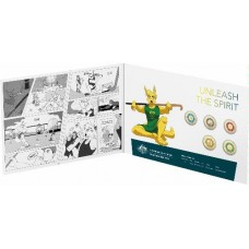 2020 $2 Olympic 5 coin set