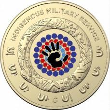 2021 $1 Indigenous Service  C mint mark