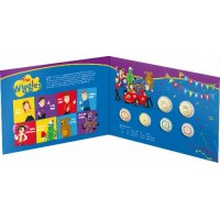 2021 $2 Wiggles 5 coin set