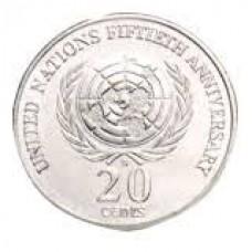 1995 20c UN 50th Anniversary