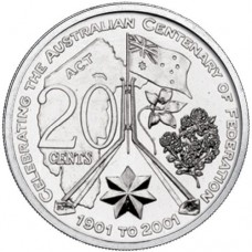 2001 20c Australian Capital Territory