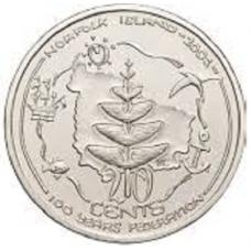 2001 20c Norfolk Island