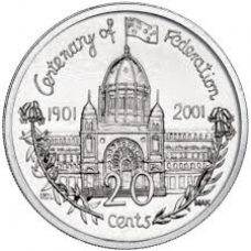 2001 20c Victoria
