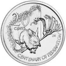 2001 20c Western Australia
