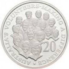2003 20c Volunteers