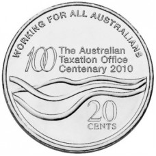 2010 20c Centenary of the Tax Office