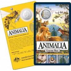 2021 20c Animalia on Card