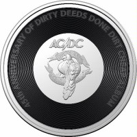 2021 20c AC/DC - Dirty Deeds