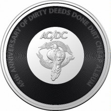 2021 20c AC/DC - Dirty Deeds
