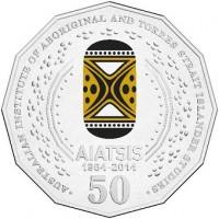 2014 50c AIATSIS (Coloured)