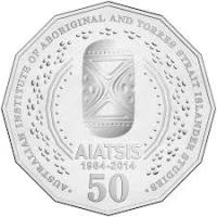 2014 50c AIATSIS