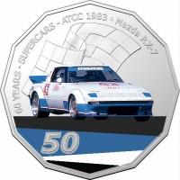 2020 50c Supercars 1983 Mazda RX7